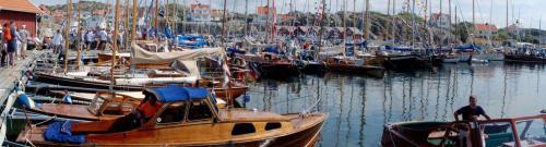 Panorama i hamnen
